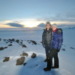Top of the Glacier after the Gullfoss Falls