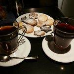 Infusi e biscotti