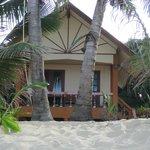 vores bungalow på beach
