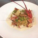 Linguini de homard