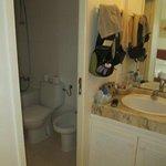 badrum i bungalow