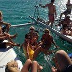 Catamaran trip!!!!