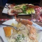 Choucroute de la mer et homard