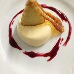 Crème Brulee dessert.