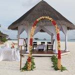 Свадебная церемония готова