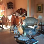 Front sitting room of The Shores B&B