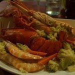 lobster & prawns