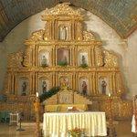 Ornate gilded altarpiece