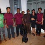 Tanya and staff