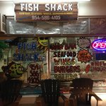 Front window of Fish Shack