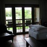 bedroom and verandah