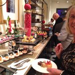 New year gala evening sweet selection