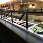 Salad bar had choice