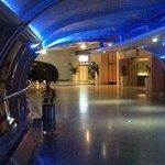 walkway entrance from Radisson Blu