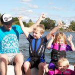 Waterskiing and wakeboarding for all ages