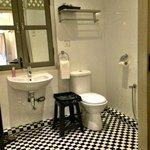 Inside the bathroom