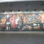 El mural de la pinacoteca