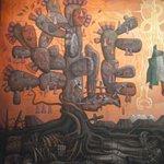 primera parte del mural. mi favorita