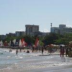 Em frente ao hotel - praia de Pajuçara