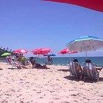 Praia tranquila!