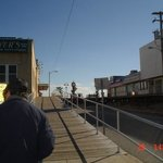 Entering BoardWalk at Ocean City, NJ