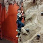 Rock Climbing in Action City at Metropolis City