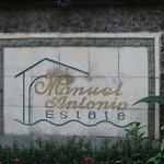Manuel Antonio signage from Quepos