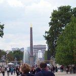 Place de la Concorde from Tuileries Garden