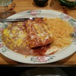 Chicken enchilada dinner