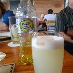 Pisco Sour e Inka kola