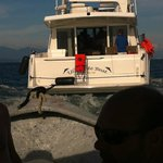 The boat that rescued us.