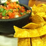 Salsa Fresca and Chips