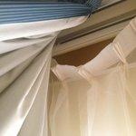 Arreglen las cortinas