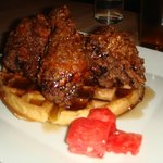 (Brown) Fried Chicken and Waffles