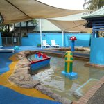 kiddie pool area
