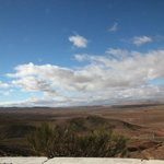 a few minutes drive away, here's a beautiful lookout point.  Ifrane is pretty