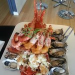Seafood Platter for 2 with Crayfish