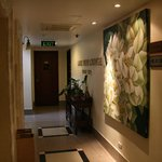 Corridor on 8th floor.