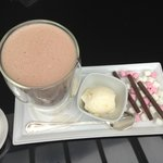 Hot Chocolate in Bar Area