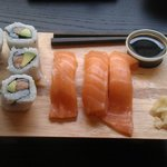 Easy take-away, delicious sushi!