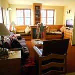 Sala de um apartamento simples