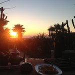 Mint Tea and Sunset