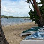 Main beach area near centre of resort