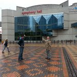 Symphony hall at broad st Birmingham that was an amazIng day
