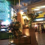 Statue in Kidzania square
