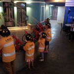 Kidzania firefighters