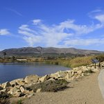 Coastal bike trail in nearby Ventura