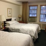 x2 Queen beds - room overlooking 57th Street