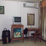 Chambre 212 Frigo Bureau et Télé