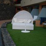 Balinesisches Bett der Superiorzimmer